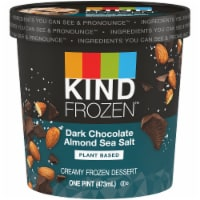 KIND Dark Chocolate Almond Sea Salt Plant-Based Ice Cream