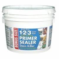 Zinsser  Bulls Eye 123  White  Primer and Sealer  2.5 gal. - Case Of: 1; - Count of: 1