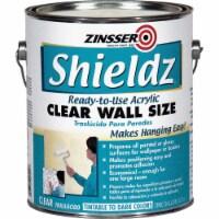 Zinsser  Shieldz Clear Wall Size  Clear  Primer  1 gal. - Case Of: 4; - Case of: 4