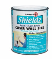 Zinsser  Shieldz Clear Wall Size  Clear  Primer  1 qt. - Case Of: 1; - Count of: 1