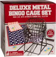 Cardinal Games Deluxe Metal Bingo Cage Set