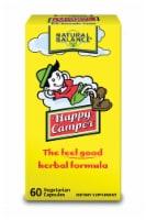 Natural Balance Happy Camper Herbal Formula Vegetarian Capsules - 60 ct