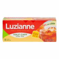 Luzianne Half Caff Family Size Tea Bags