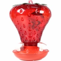 Audubon-Woodlink Strawberry Hummingbird Feeder 40 Oz., Red