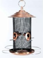 Audubon Mixed Seed Bird Feeder - Brushed Copper