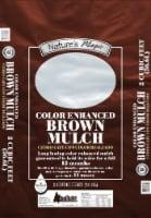 Nature's Magic Color Enhanced Mulch - Brown