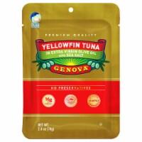 Genova Yellowfin Tuna in Extra Virgin Olive Oil with Sea Salt