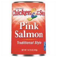 Chicken of the Sea Canned Traditional Style Pink Salmon