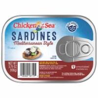 Chicken of the Sea Mediterranean Style Sardines - 3.75 oz