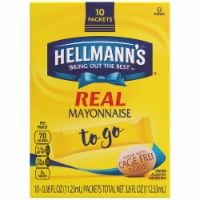 Hellmanns Real Mayo To Go Packets