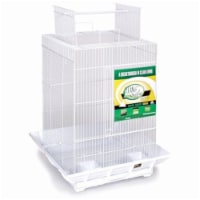 Clean Life Play Top Bird Cage - Black - 1