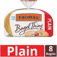 Thomas' Plain Bagel Thins 8 Count