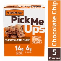 Thomas' Pick Me Ups Chocolate Chip Soft Baked Oatmeal Squares 5 Count