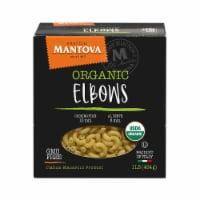 Organic Durum Wheat Semolina Elbow 16 oz (Pack of 4) - 1 lb