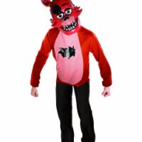 BuySeasons 401790 Five Nights at Freddys Deluxe Foxy Kids Costume Set, Small - 1