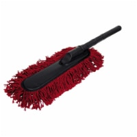Carrand Pacific Coast Car Duster - Black/Red - 1 ct