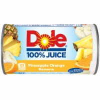 Dole Pineapple Orange Banana 100% Fruit Juice Drink
