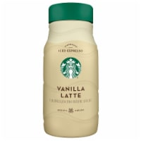 Starbucks Iced Vanilla Latte Chilled Espresso Coffee Beverage 40 oz Bottle