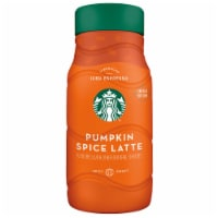 Starbucks Pumpkin Spice Latte Chilled Espresso Beverage