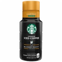 Starbucks Blonde Roast Unsweetened Iced Coffee Beverage