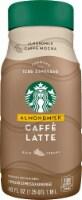 Starbucks Caffe Latte Almond Milk Chilled Espresso Coffee Beverage 40 oz Bottle