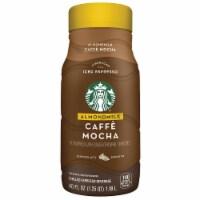 Starbucks Caffe Mocha Almond Milk Chilled Espresso Coffee Beverage 40 oz Bottle