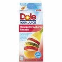 Dole Orange Strawberry Banana 100% Juice