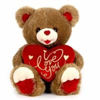 Joelson Valentine Bear with Embroidered Heart