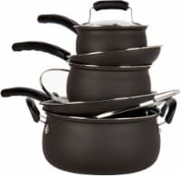 Basic Essentials® Cookware Set - Matte Black
