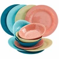 Tabletops Unlimited Summer Fun Melamine Dinnerware Set - 12 pc