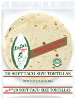 Guerrero La La's Traditional Style Soft Taco Size Tortillas