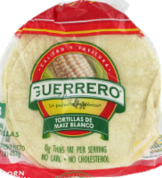 Guerrero White Corn Tortillas 18 Count