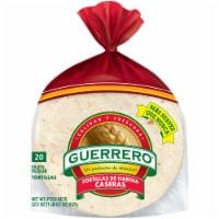 Guerrero® Tortillas de Harina Caseras Fajita Flour Tortillas 20 Count