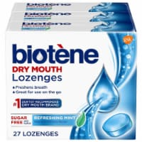 Biotene Dry Mouth Refreshing Mint Lozenges