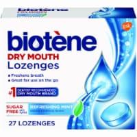 Biotene Refreshing Mint Lozenges - 27 ct
