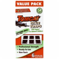 Tomcat 32414 Mouse Glue Trap, Pack - 6 - 1