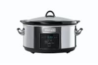 Crock-Pot® Programmable Slow Cooker - Silver/Black