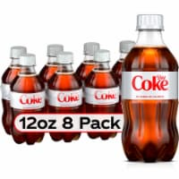 Diet Coke Soda 8 Count