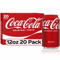 Coca-Cola Soda 20 Cans
