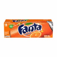 Fanta Orange Soda Fridge Pack
