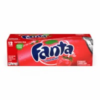 Fanta Strawberry Flavored Soda