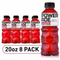 Powerade ZERO Fruit Punch Sports Drink Bottles