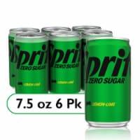 Sprite Zero Diet Lemon Lime Soda 6 Count