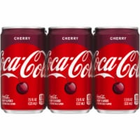 Coca-Cola Cherry Soda 6 Count