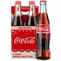Coca-Cola® Mexican Glass Bottle Soda - 12 fl oz / 4 bottles