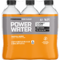 Powerade Zero Sugar Power Water Tropical Mango