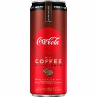 Coca-Cola with Coffee Dark Blend Zero Sugar Soda
