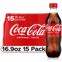 Coca-Cola Soda - 15 bottles / 16.9 fl oz