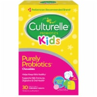 Culturelle Kids Bursting Berry Flavored Chewable Daily Probiotic Tablets 30 Count