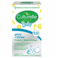 Culturelle Baby Grow + Thrive Probiotic + Vitamin D Drops